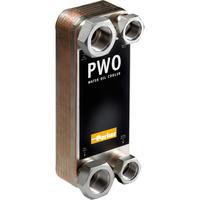 Паяные пластинчатые водяные маслоохладители PWO