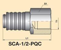 Диагностическое быстроразъемное соединение SCA-1/2-PQC
